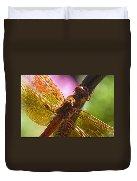 Dragonfly Patterns Duvet Cover