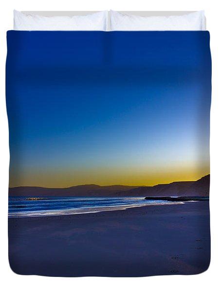Drake's Beach Hdr Duvet Cover