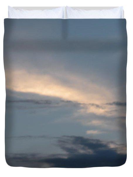 Dramatic Skyline Duvet Cover