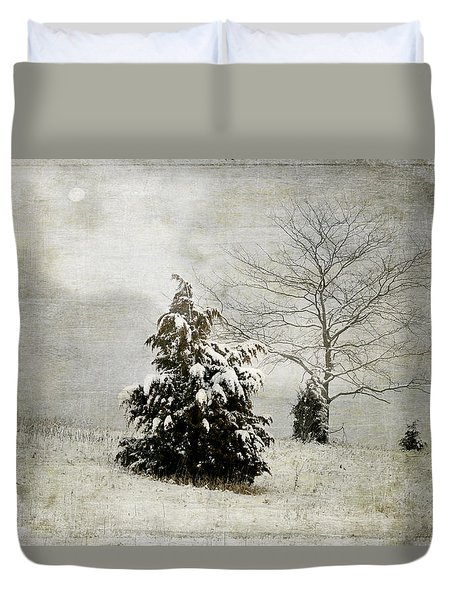 Dread Of Winter Duvet Cover
