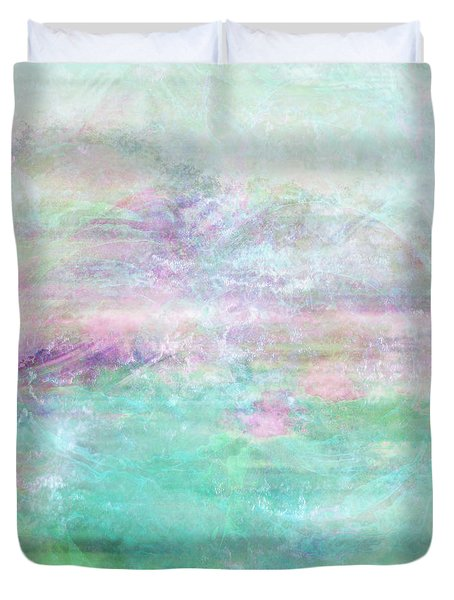 Dream - Abstract Art Duvet Cover by Jaison Cianelli