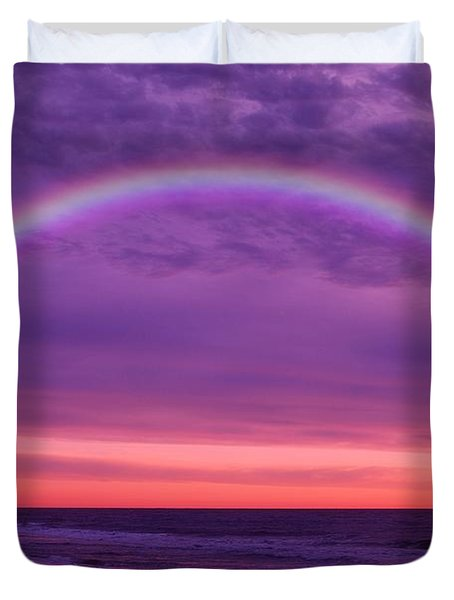 Dream Along The Ocean Duvet Cover