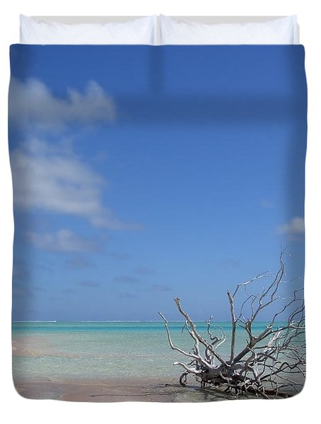 Dream Atoll  Duvet Cover by Jola Martysz