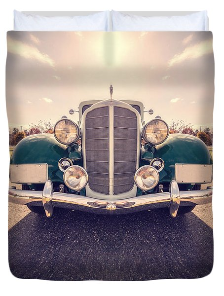 Dream Car Duvet Cover by Edward Fielding
