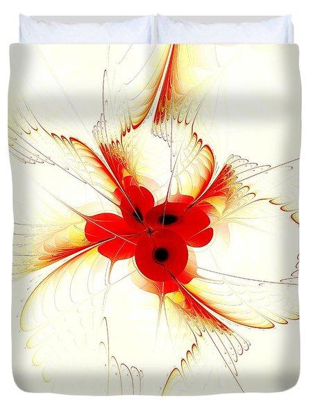 Dream Flower Duvet Cover by Anastasiya Malakhova