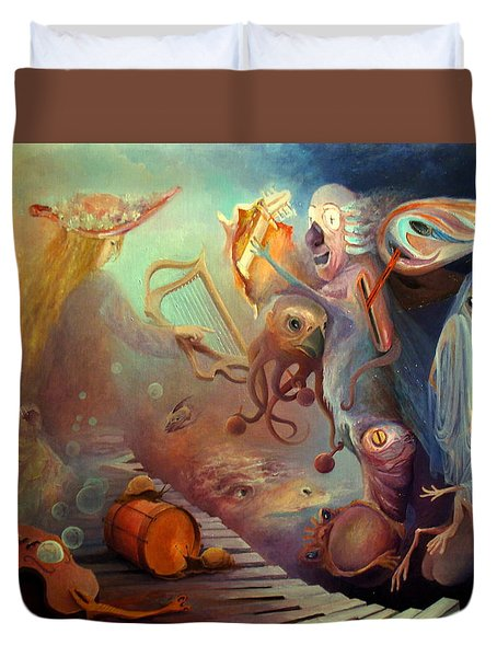 Dream Immersion Duvet Cover