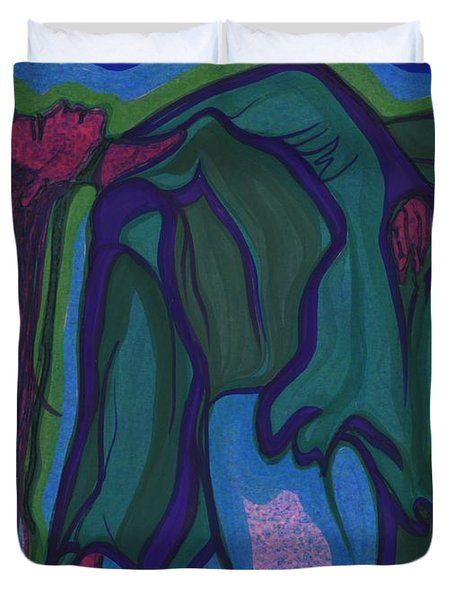 Dream In Color 1 By Jrr Duvet Cover by First Star Art