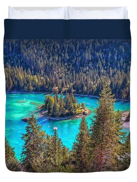 Dream Lake Duvet Cover by Hanny Heim