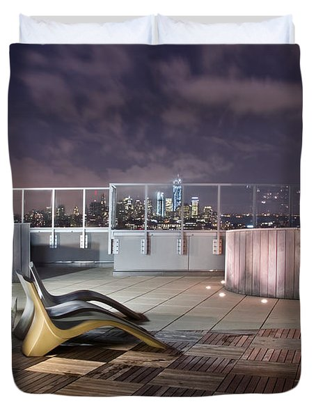 Dream On Until Tomorrow Duvet Cover by Evelina Kremsdorf