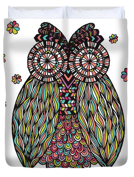 Dream Owl Duvet Cover by Susan Claire