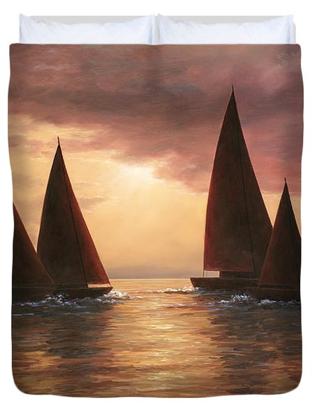 Dream Sails Duvet Cover