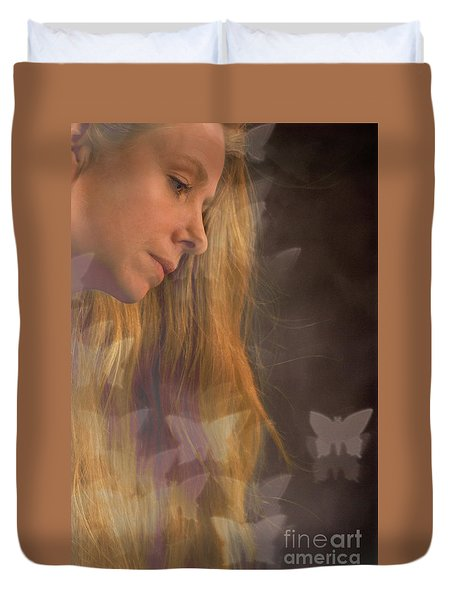 Dreaming... Duvet Cover by Nina Stavlund