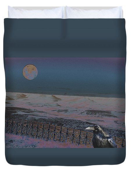 Duvet Cover featuring the photograph Dreamland by Aurora Levins Morales