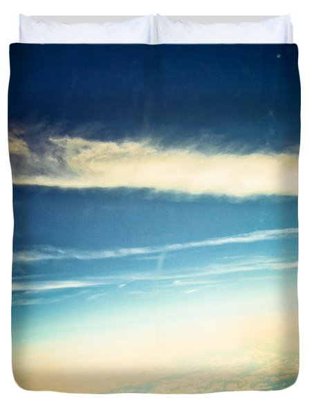 Duvet Cover featuring the photograph Dreamland by Sara Frank
