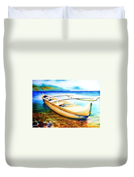 Dreams Of Polynesia Duvet Cover