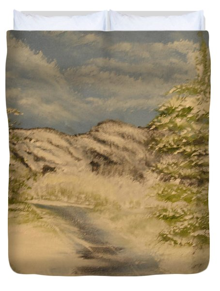 Dreams Of Snow Duvet Cover