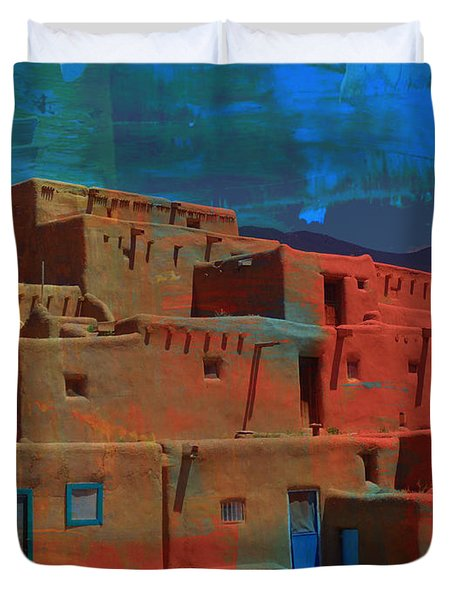 Dreams Of Taos Duvet Cover