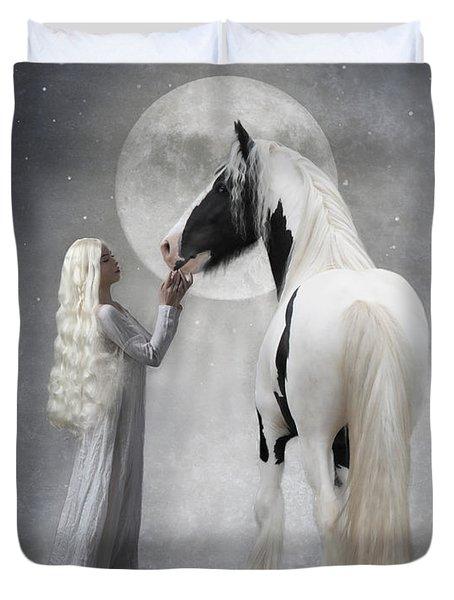 Dreams Of White Duvet Cover