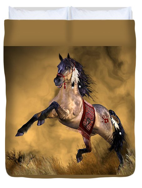 Dreamweaver Duvet Cover by Valerie Anne Kelly