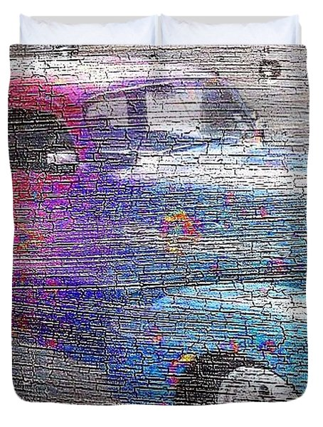 Duvet Cover featuring the photograph Dreamy 1938 Chevy  by Janette Boyd