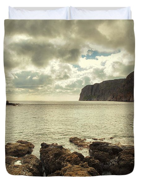 Dreamy Bay  Duvet Cover by Mike Santis