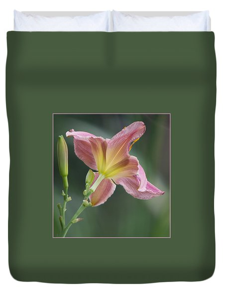 Dreamy Daylily Duvet Cover by Patti Deters