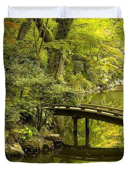 Dreamy Japanese Garden Duvet Cover