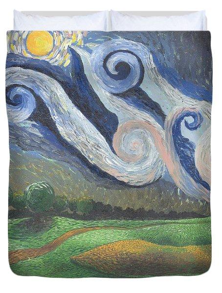 'dreamy Sky' Duvet Cover