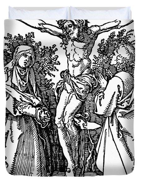 Durer Crucifixion Duvet Cover