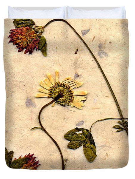 Dried Flowerrs 1 Duvet Cover