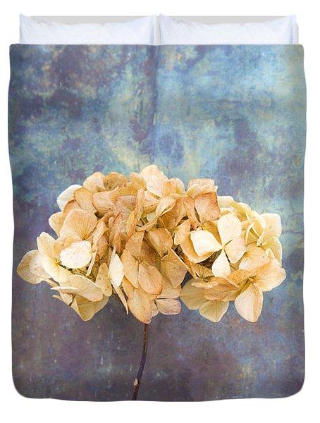 Dried Hydrangea Duvet Cover
