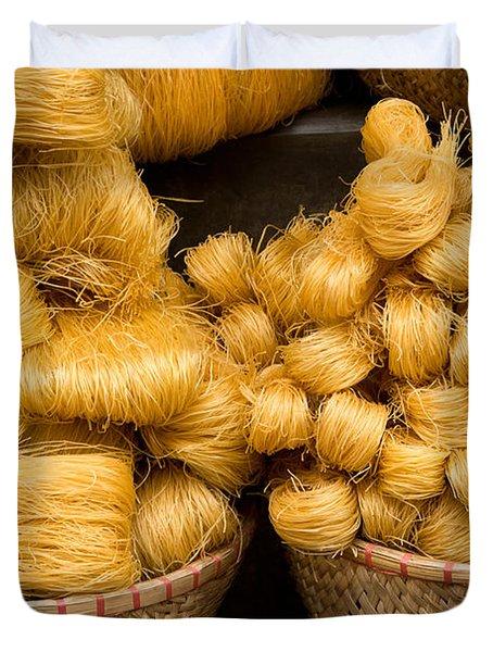 Dried Rice Noodles 02 Duvet Cover