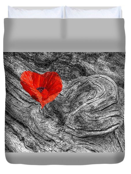 Drifting - Love Merging Duvet Cover