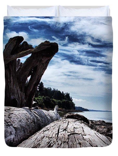 Driftwood In Teddy Bear Cover Duvet Cover