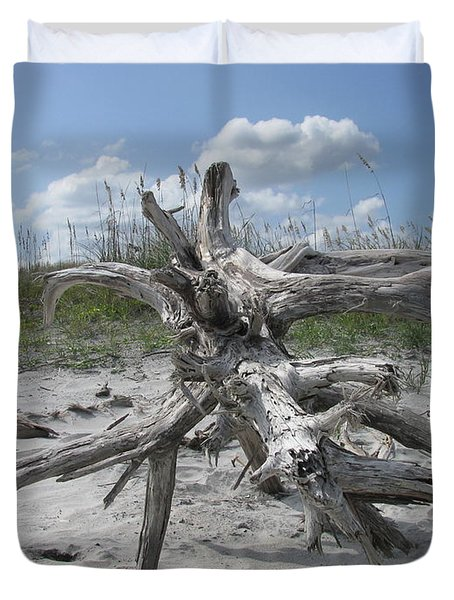 Driftwood Tree Duvet Cover by Ellen Meakin