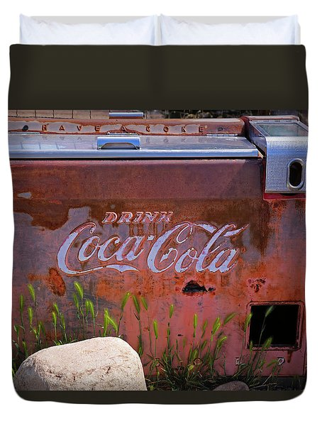 Drink Coca Cola Duvet Cover