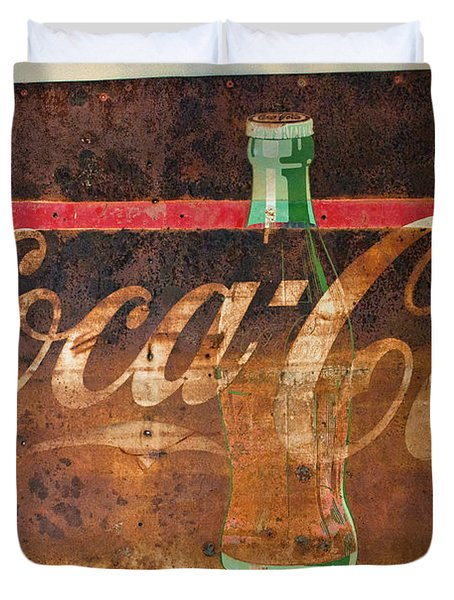 Drink Coca-cola Duvet Cover by Tikvah's Hope