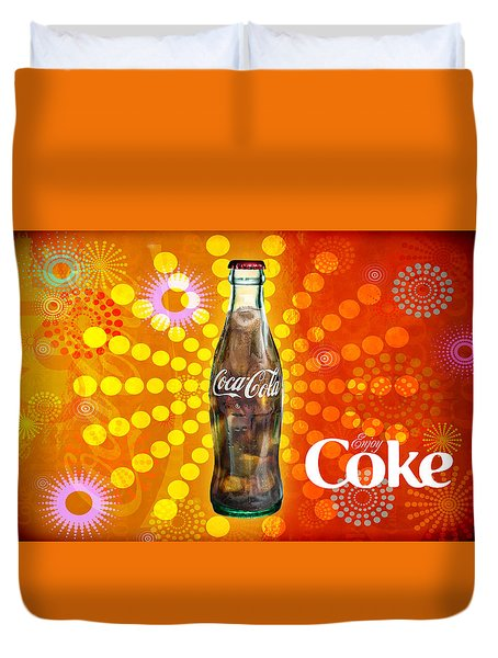 Drink Ice Cold Coke 4 Duvet Cover