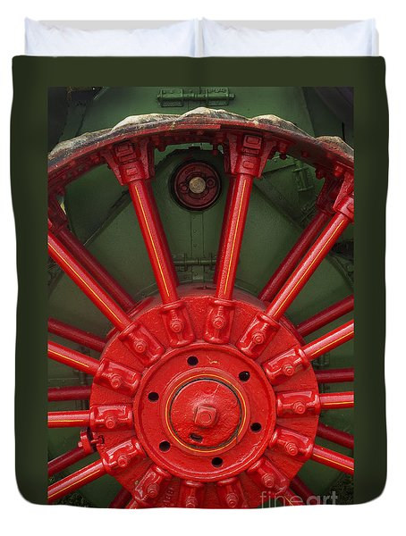 Drive Wheel Duvet Cover by Paul W Faust -  Impressions of Light