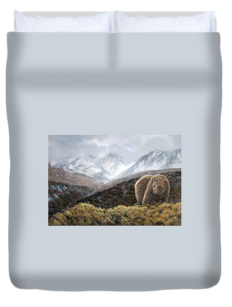 Driven To Rest Duvet Cover
