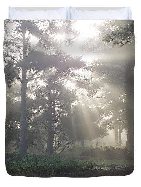 Driveway To Paradise  Duvet Cover by Mike McGlothlen