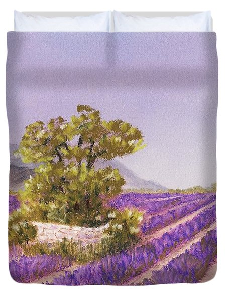 Drome Provence Duvet Cover by Anastasiya Malakhova