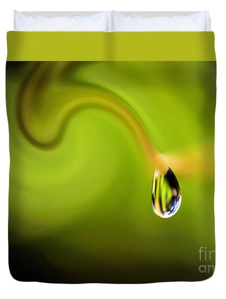 Droplet Ready To Drip Duvet Cover