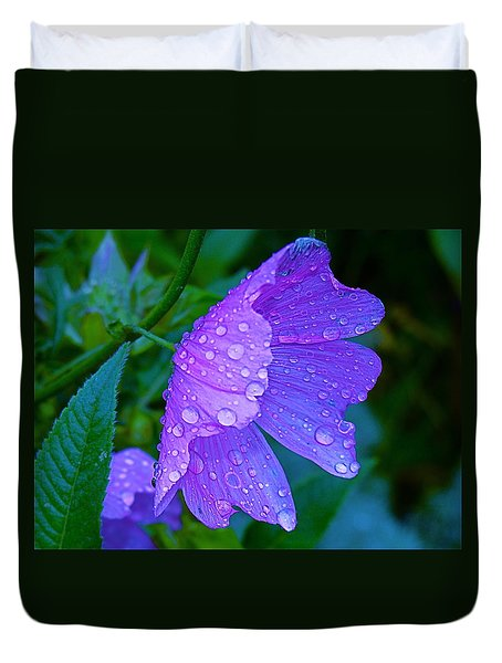 Drops Of Delight Duvet Cover