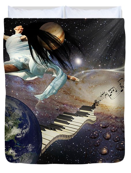Drops Of Jupiter Duvet Cover