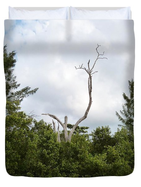 Duvet Cover featuring the photograph Druid Dance by Amar Sheow