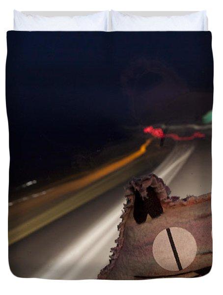 Drunk Driver Duvet Cover