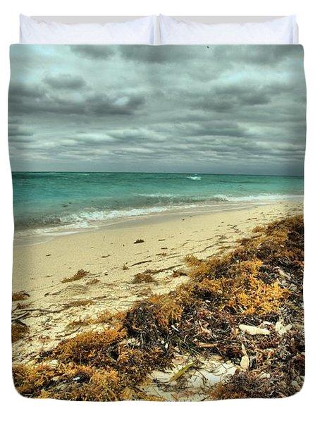 Dry Tortugas Beach Duvet Cover by Adam Jewell