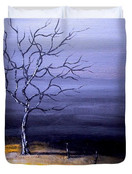 Dry Winter Duvet Cover