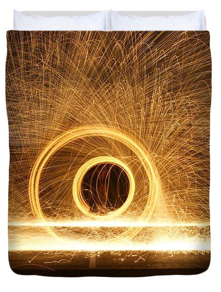 Dual Spins   # Duvet Cover